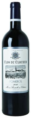 Clos du Clocher, Pomerol, Bordeaux, Francia, 2015