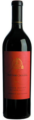 Dutcher Crossing, Dry Creek Valley, Taylor Reserve, 2011