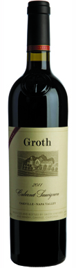 Groth, Reserve Cabernet Sauvignon, Napa Valley, Oakville