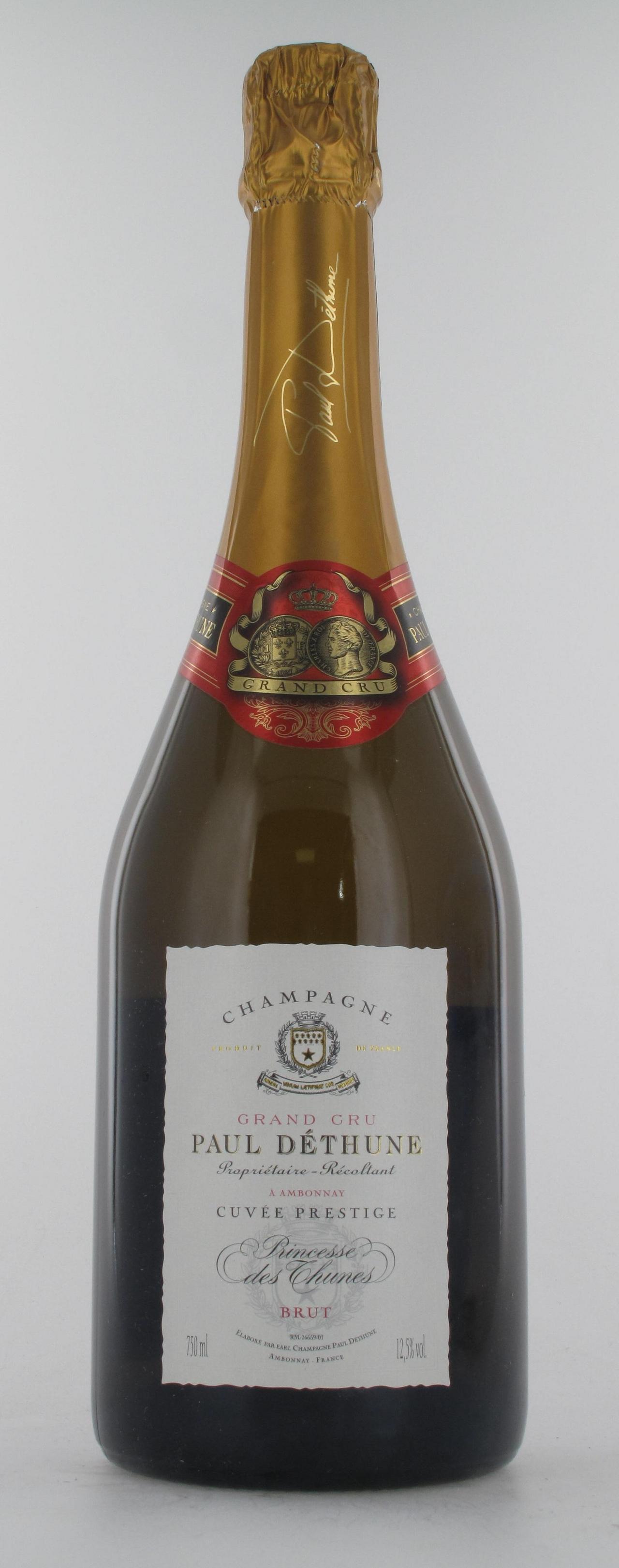 Paul Dethune, Cuvée Prestige Princesse, Brut, Champagne