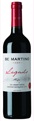 De Martino, Legado, Maipo Valley, Chile, 2012