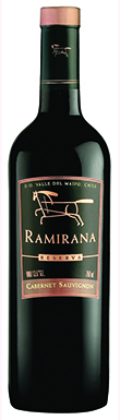 Ramirana, Reserva, Maipó Valley, Chile, 2013