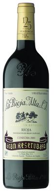 La Rioja Alta, 890 Gran Reserva, Rioja, Northern Spain, 2001