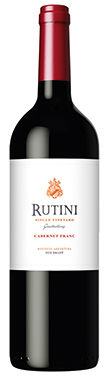 Rutini, Single Vineyard Gualtallary Cabernet Franc, Uco