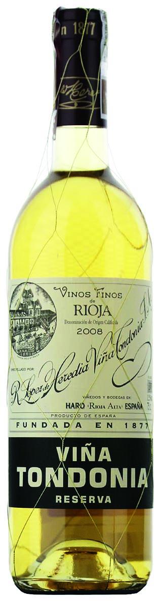 R Lopez de Heredia, Viña Tondonia Blanco, Rioja, 2008