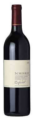 Scherrer, Old & Mature Vines Zinfandel, Sonoma County