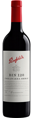 Penfolds, Bin 128 Shiraz, Coonawarra, South Australia, 2016