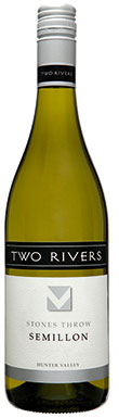 Two Rivers, Stone's Throw Semillon, Hunter Valley, 2019