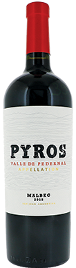 Pyros Wines, Appellation Malbec, Pedernal Valley, 2018