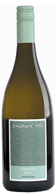 Elephant Hill, Viognier, Hawke's Bay, New Zealand, 2010
