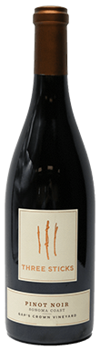 Three Sticks, Gap's Crown Vineyard Pinot Noir, Sonoma