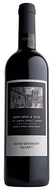 Berry Bros & Rudd, Good Ordinary Claret, Bordeaux, 2017