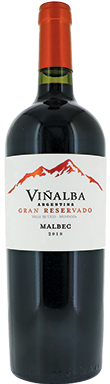 Viñalba, Gran Reservado Malbec, Uco Valley, Mendoza, 2018