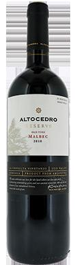 Karim Mussi, Altocedro Reserve Old Vine Malbec, Luján de