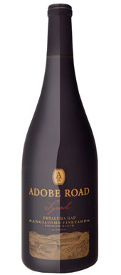 Adobe Road, Sangiacomo Fedrick Ranch Vineyard Syrah, Sonoma