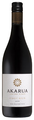 Akarua, Pinot Noir, Central Otago, New Zealand, 2009