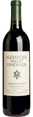 Alexander Valley Vineyards, Estate Cabernet Sauvignon