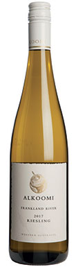 Alkoomi, White Label Riesling, Frankland River, 2017