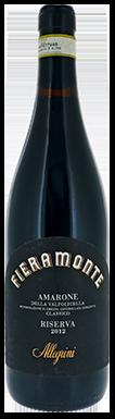 Allegrini, Fieramonte, Amarone della Valpolicella, Classico
