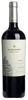 Altocedro, Año Cero Malbec, Uco Valley, La Consulta, 2017