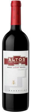 Altos Las Hormigas, Malbec, Uco Valley, Altamira, 2015