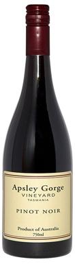 Apsley Gorge Vineyard, Pinot Noir, Tasmania, Australia, 2010