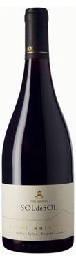 Viña Aquitania, Sol de Sol Pinot Noir, Malleco Valley, 2012