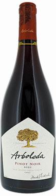Arboleda, Pinot Noir, Costa, Aconcagua Valley, Chile, 2020