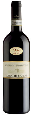 Arnaldo Caprai, 25 Anni, Montefalco Sagrantino, Umbria, 2001