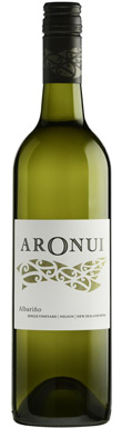 Aronui, Moutere, Single Vineyard Albariño, Nelson, 2016