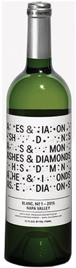 Ashes & Diamonds, Blanc No 1, Napa Valley, Rutherford, 2015