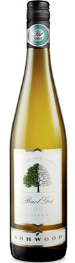 Ashwood Estate, Pinot Gris, Gisborne, New Zealand, 2017