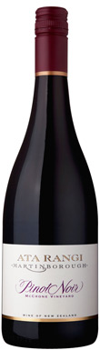 Ata Rangi, McCrone Vineyard Pinot Noir, Martinborough, 2014