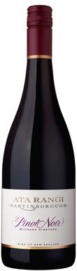 Ata Rangi, McCrone Vineyard Pinot Noir, Martinborough, 2013