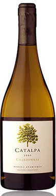 Bodega Atamisque, Catalpa Single Vineyard Chardonnay, Uco