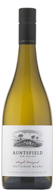 Auntsfield, Single Vineyard Sauvignon Blanc, Southern