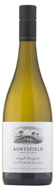 Auntsfield, Single Vineyard Sauvignon Blanc, 2018