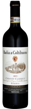 Badia a Coltibuono, Riserva, Chianti, Classico, 2015