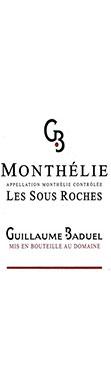 Guillaume Baduel, Monthélie, Les Sous Roches, 2015