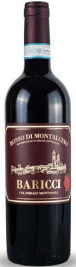 Baricci, Rosso di Montalcino, Tuscany, Italy, 2015