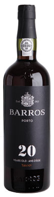 Barros, Port, 20 Year Old Tawny, Douro, Portugal
