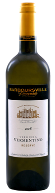 Barboursville Vineyards, Reserve Vermentino, Monticello AVA