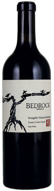 Bedrock Wine Co, Evangelho Vineyard Heritage, San Francisco