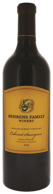 Behrens Family Winery, Moulds Family Vineyard Cabernet
