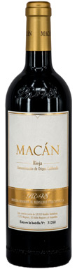 Benjamin de Rothschild & Vega Sicilia, Macan, Rioja, 2016