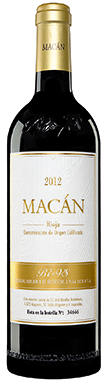 Benjamin de Rothschild & Vega Sicilia, Macán, Rioja, 2012