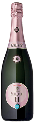 Berlucchi, '61 Rosé, Franciacorta, Lombardy, Italy, 2013