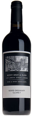 Berry Bros & Rudd, Good Ordinary Claret, Bordeaux, 2015