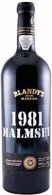 Blandy's, Malmsey Vintage, Madeira, Madeira, Portugal, 1981