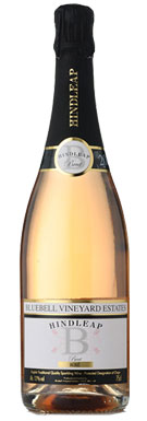 Bluebell Vineyard Estates, Sussex, Hindleap Brut Rosé, 2010
